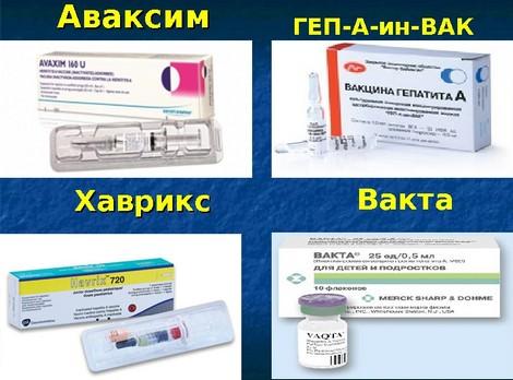 Вакцины против гепатита А