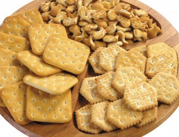 Галетное печенье при болях в печени