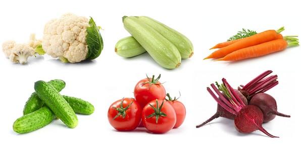 Разрешённые овощи при гепатите C
