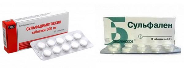 Сульфаниламидные препараты