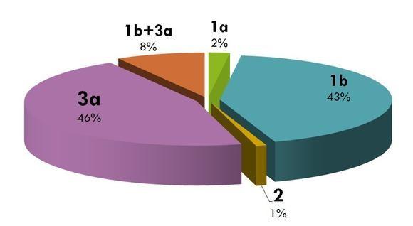 Распространенность генотипов гепатита С