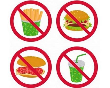 Запрещённые продукты при ГПОД