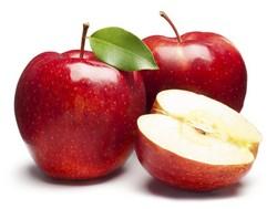 Яблоки можно только не кислых сортов