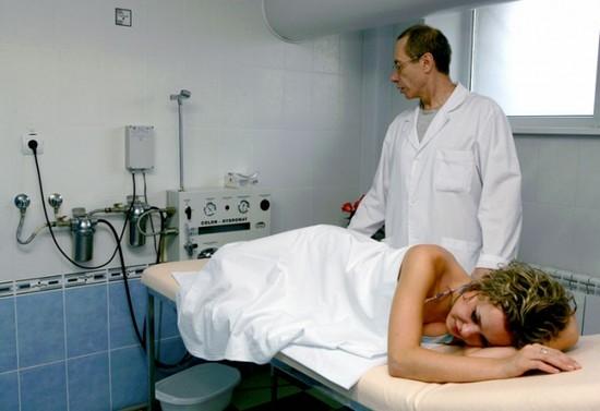 Процедура промывания кишечника