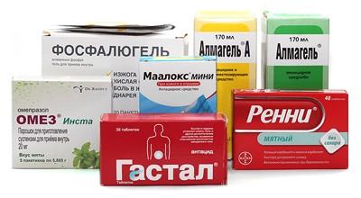 Антацидные препараты от изжоги
