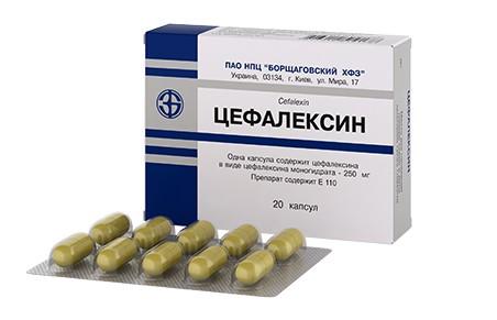 Препарат «Цефалексин»
