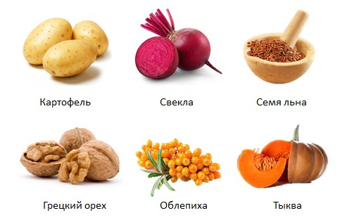 Продукты для лечения язвы желудка в домашних условиях